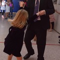 Dancing with her Daddy