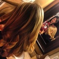 Curling Her Hair for the Dance
