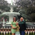 Green Fountain in Forsyth Park