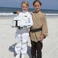 Star Wars on the Beach