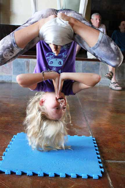 Upside-Down Namaste