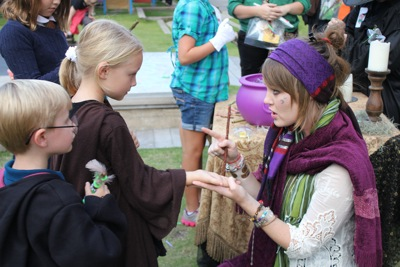 With the Fortune Teller
