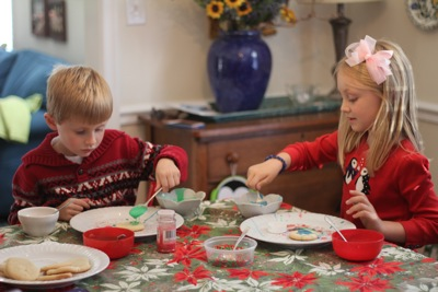 Making Cookies for Santa