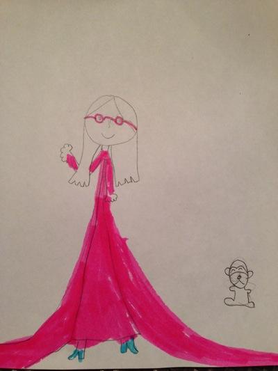 Princess with Glasses