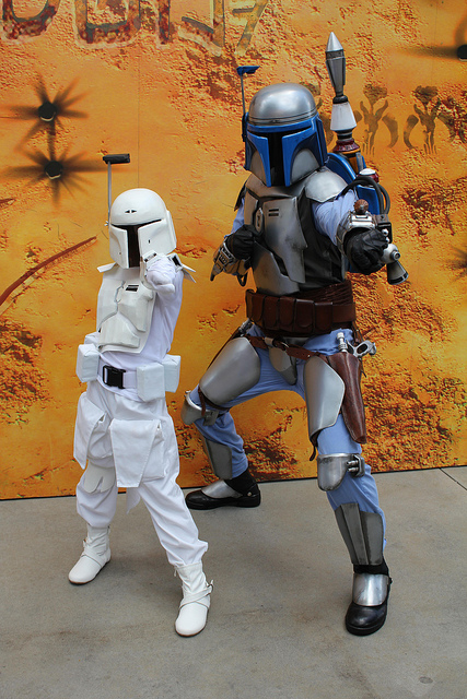 With Jango Fett